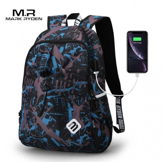 Mark Ryden Backpack Student Water Repellen Nylon Backpack Men Material Escolar Mochila Quality Brand Laptop Bag School Backpack