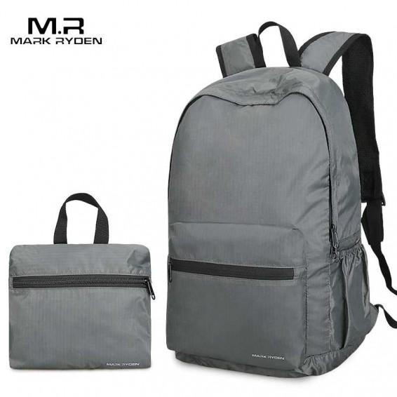 Mark Ryden Folding Backpack Men 14 Inch Nylon Men Backpack Lightweight Bag Water Repllent Travel Storage Bags