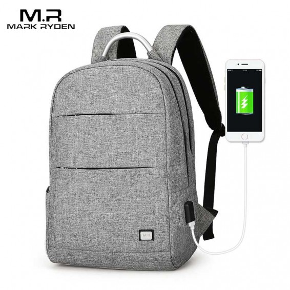 Mark Ryden Man Backpack Anti-thief Waterproof Portable Bag Can Fit 15.6inch Laptop Male Bags