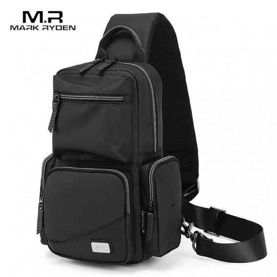 Mark Ryden Men Crossbody Bags Messenger Anti Theft Male Shoulder Bags Sling Bags Chest Bag School