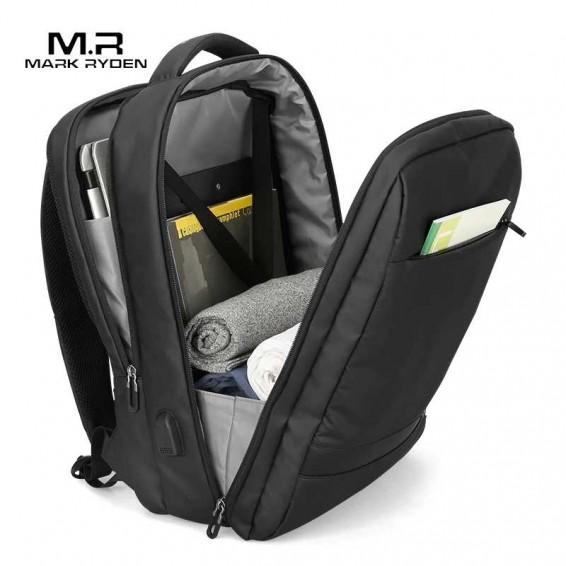 Mark Ryden Anti-thief USB Backpack Male 15.6 inch laptop Bags for Men Multi-layer School Bag Male Travel Mochila