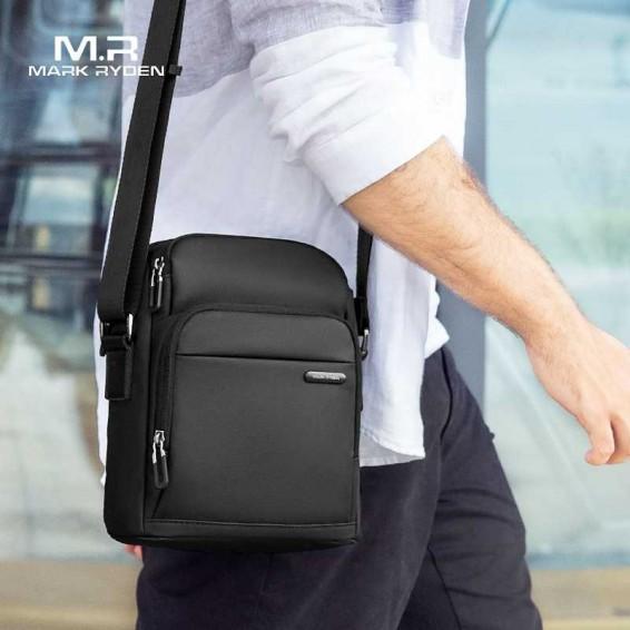 Mark Ryden Men's Messenger Bag Vintage Shoulder Bag Casual Crossbody Bag Handbags