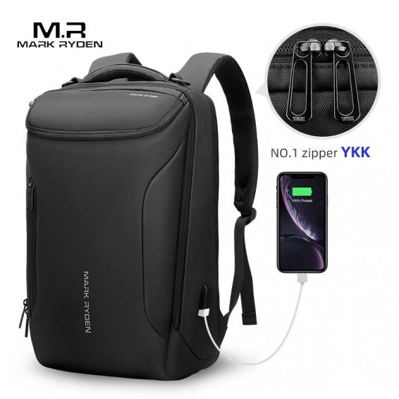 Mark Ryden 2020 NEW Upgrade YKK Zipper 15.6inch Laptop Man Backpack  Anti Theft Men Backpack Teenage Backpack Bag Male Mochila