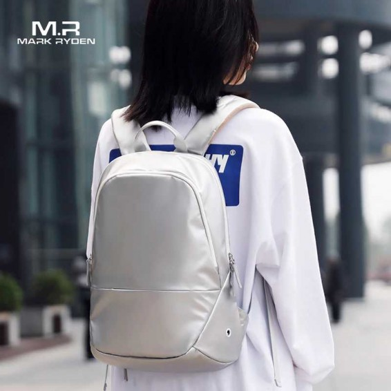 Mark Ryden 2020 New Female Backpack Four Colors Free Raincoat Girls Travel Bag Anti-thief Women Backpack School Bag For Women