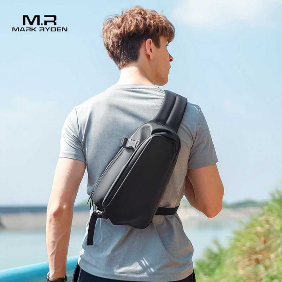 Mark Ryden Multifunction Crossbody Men Bags Anti-theft Shoulder Pack Water-repellent Messenger Shoulder Bag Male