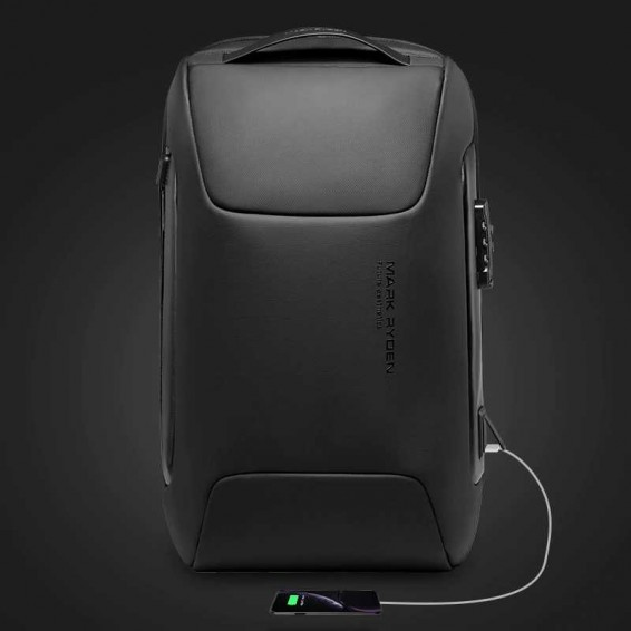MARK RYDEN Anti Thief Backpack Fits for 15.6 inch Laptop Backpack Multifunctional Backpack Water Repellent
