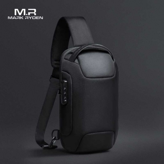 2020 Mark Ryden Men shoulder Bag TSA Anti-theft Lock Men Crossbody Bag Free-Charging Sling bag Men YKK Zipper Men Shoulder Bag